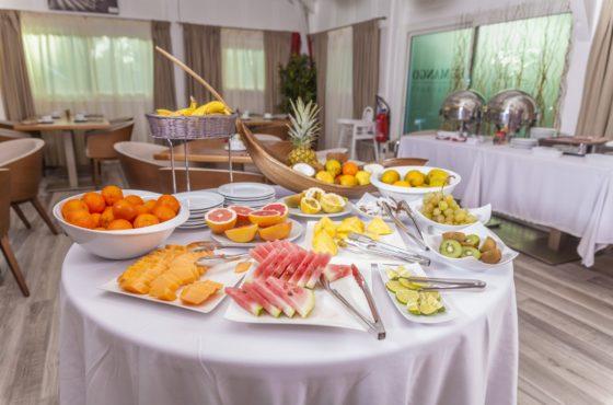 Table des fruits du Petit-Déjeuner