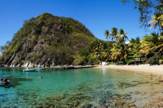 Petite Anse - Plage du Pain de Sucre,  Les Saintes, Guadeloupe, France